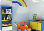 Childrens bedroom image